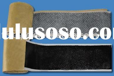 Butyl rubber Tape with Non-Woven Backing/butyl tape/rubber tape/adhesive tape/waterproof tape/sealin