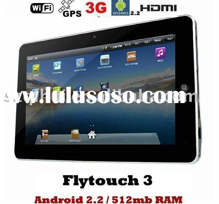 "Flytouch 3 Android 2.2 Webcam GPS 512RAM & 4GB/8GB 10.2"" Android Tablet pc"