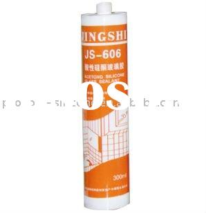JS-606 Acetoxy Silicone Glass Sealant