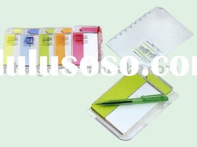 MEMO HOLDER,MEMO PAD WITH PEN,PAPER DISPENER