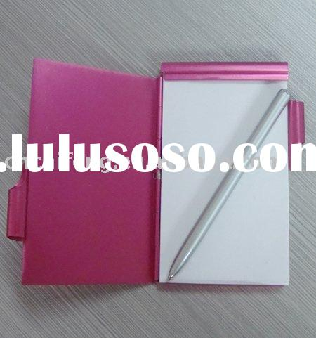 Memo pad pen/memo pad with pen holder/memo pad and pen