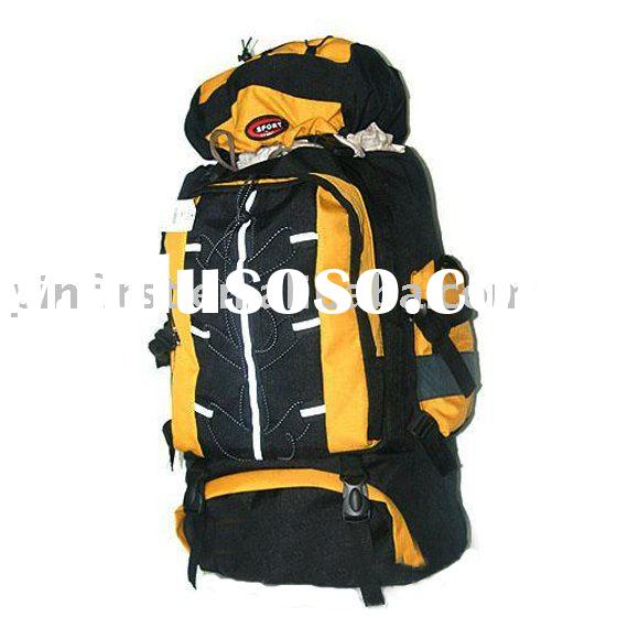 New Nylon 600D Twill Double Layers Camping Hiking Backpack Bag Pack/Camping Bag