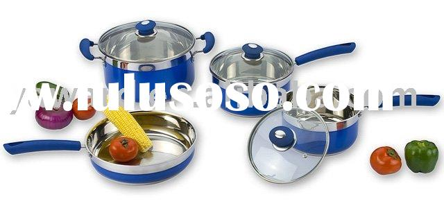 Stainless Steel Cookware Set 7 Pc YWD-011BC