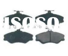 brake disc, brake pad, front brake, semi-metallic brake pad, brake lining, OEM:58101-43A30, SP1072,