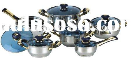 cookware sets(aluminium stockpot, stainless steel stockpot)