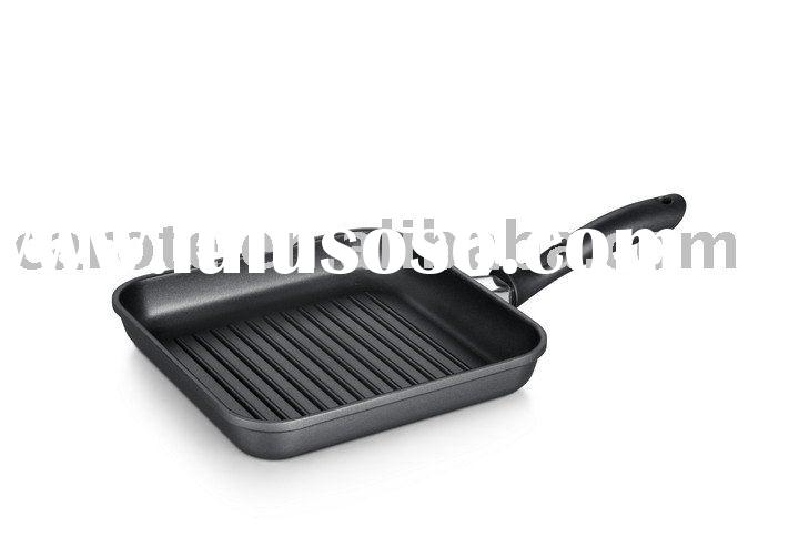 die-casting non-stick cookware grill pan