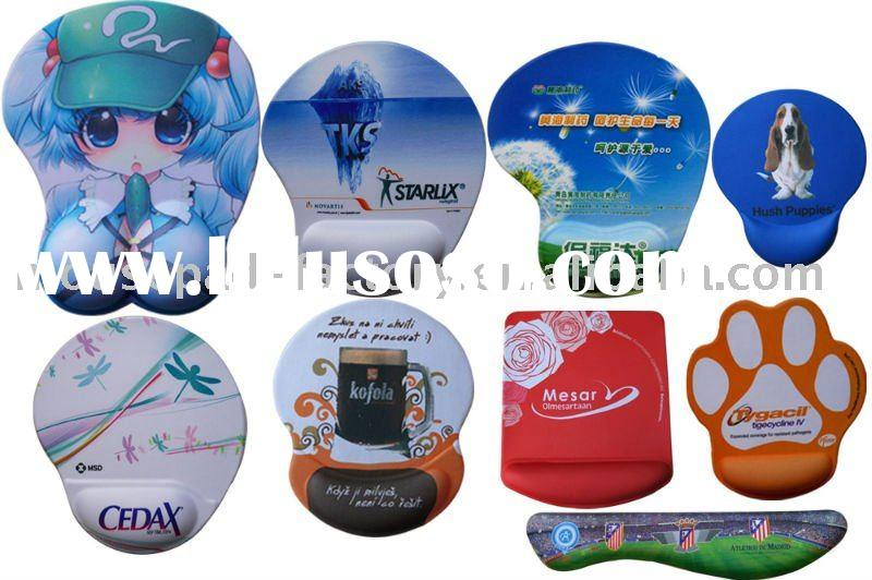 fashion and soft gel mouse pad