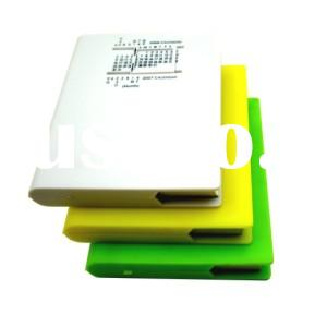 note book&memo pad with calendar