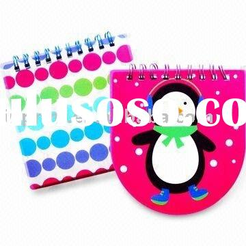 spiral notepad(note book&memo pad,paper stationery)