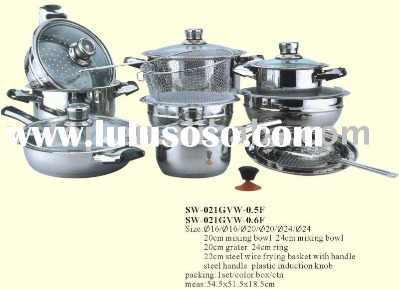 stainless steel cookware,cookware set