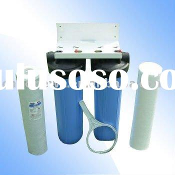 Dual BIG BLUE Whole House Water Filter System (WF-B11)