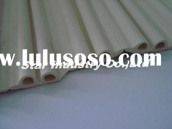 EPDM foam rubber strip with adhesive