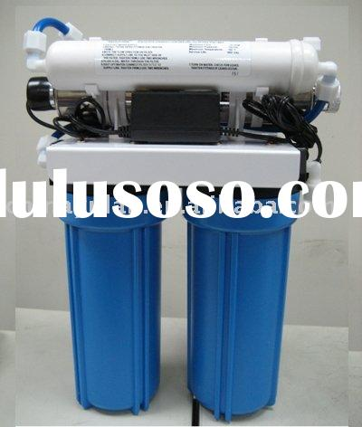 FOUR-STAGE UNDERSINK HOME WATER FILTER SYSTEM