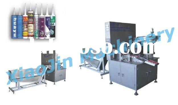 Full-Auto Cartridge Silicone Sealant Filling and Packaging Machine