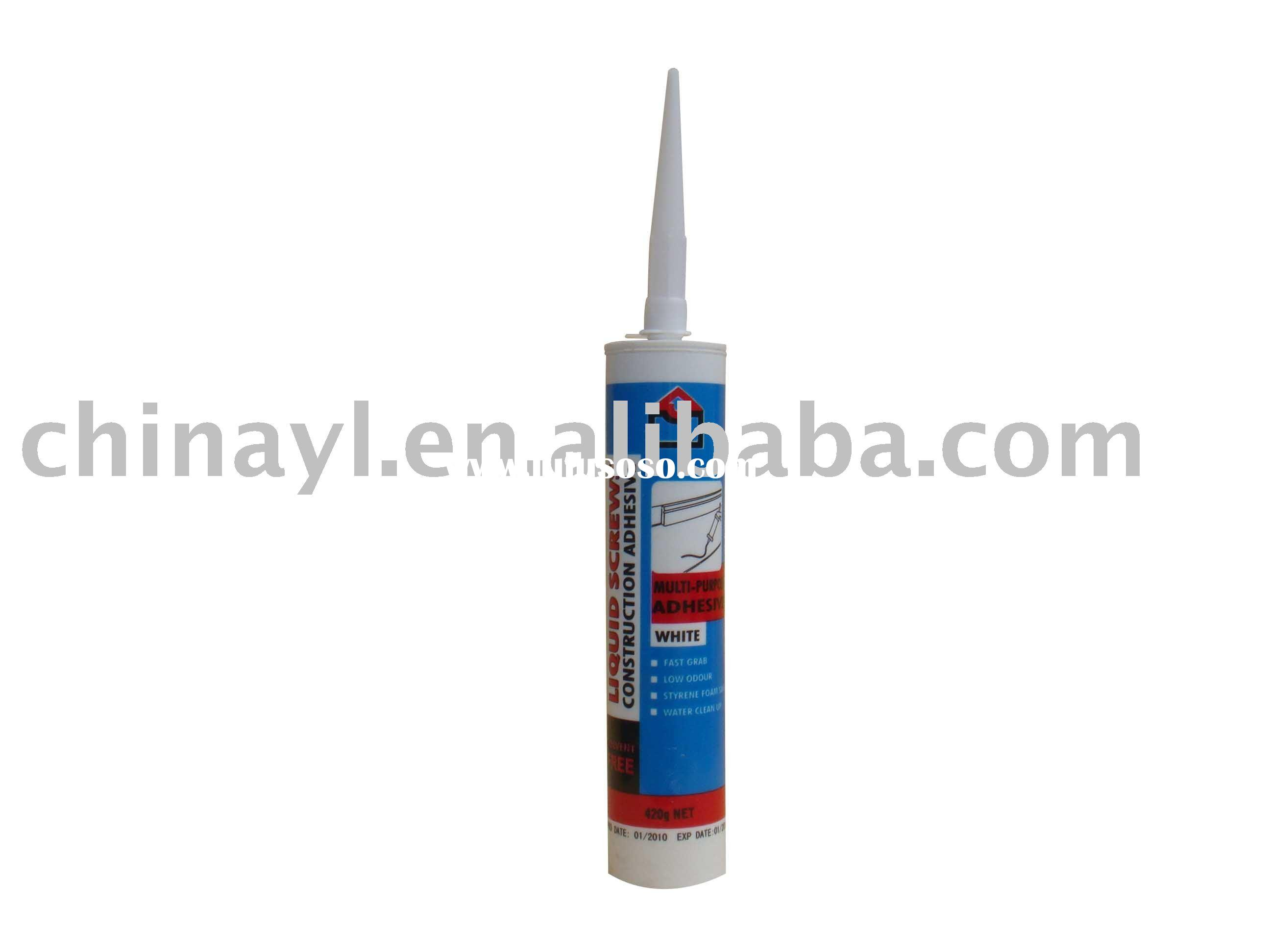 GLUE SCREWS Liquid Nail with strong adhesive
