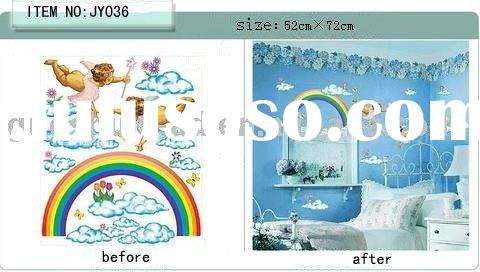 PVC self adhesive wall sticker (wall sticker vinyl)