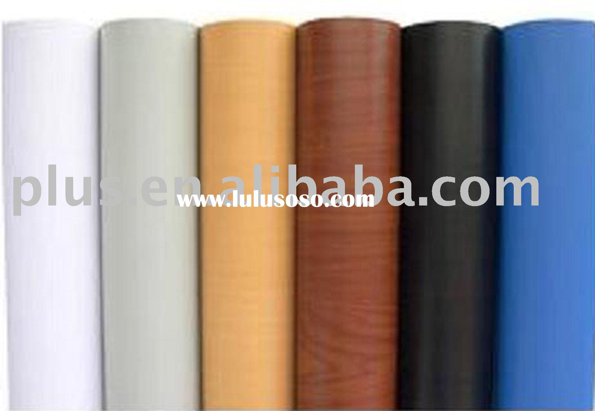 PVC wood pattern self adhesive wall paper