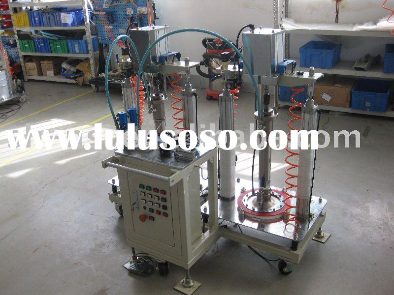 Two-head Automatic filling sealing machine/filling adhesive machine/capsule filling machine/filling/