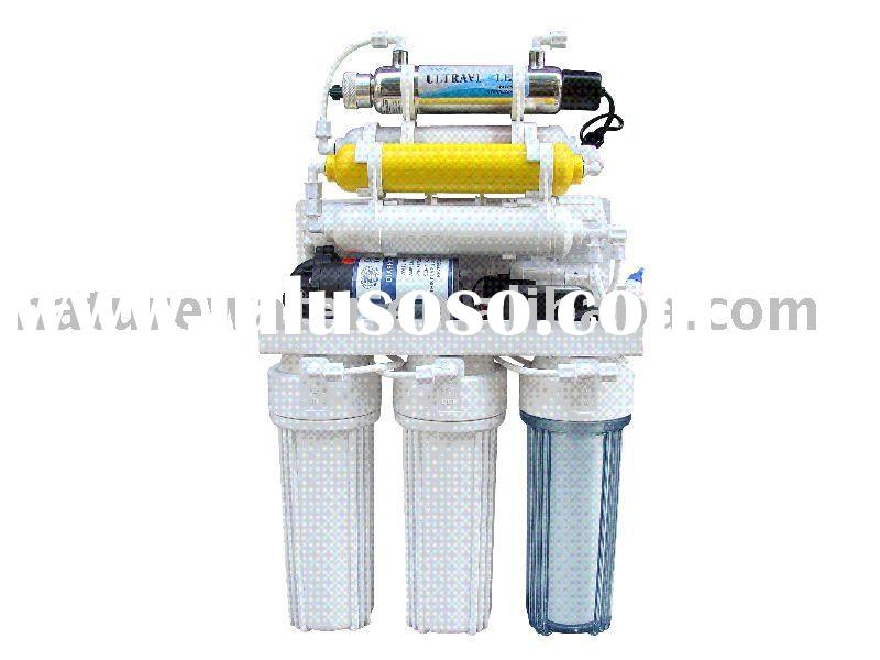 domestic undersink  8 stage drinking ro  water purifier system