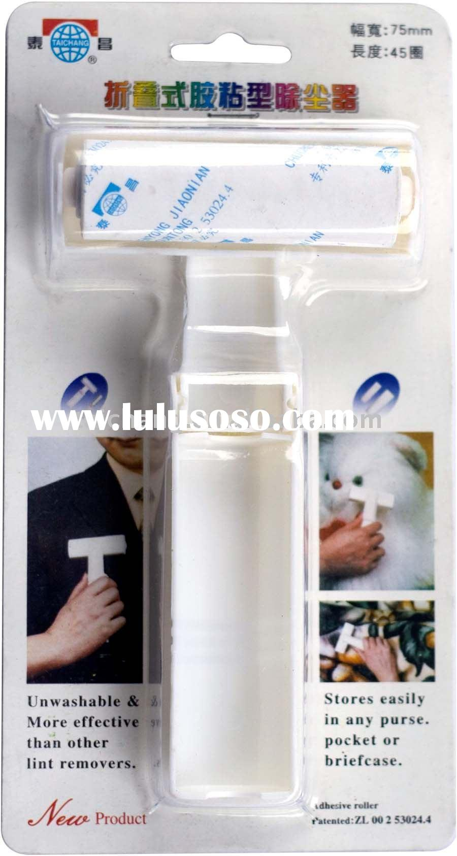 self adhesive lint remover