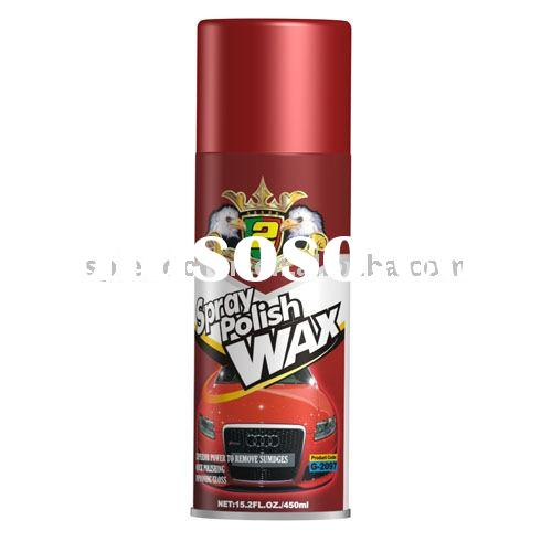 spray polish wax or spray protection or car wax polish