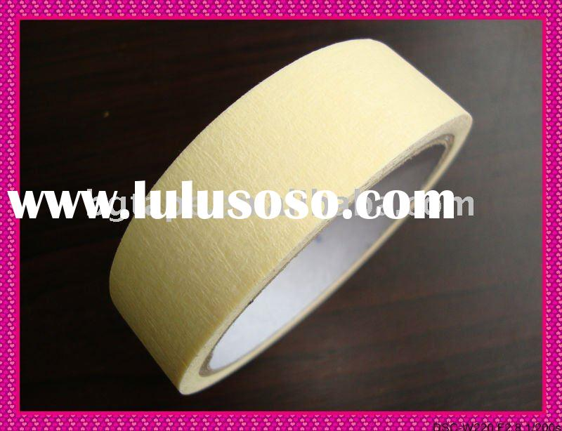 yellow masking tape for auto spraying