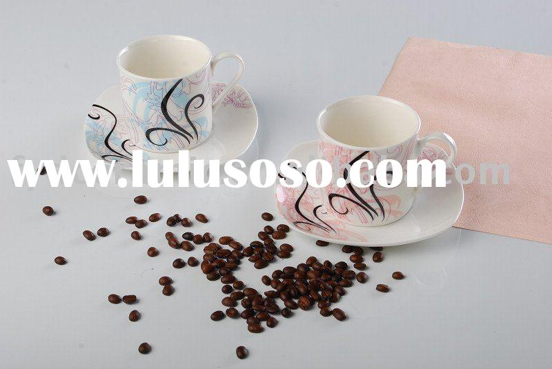 Coffee cup and saucer set, FYDCS2002