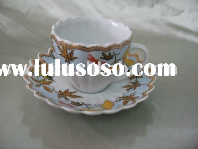 Flower shape Cup and Saucer