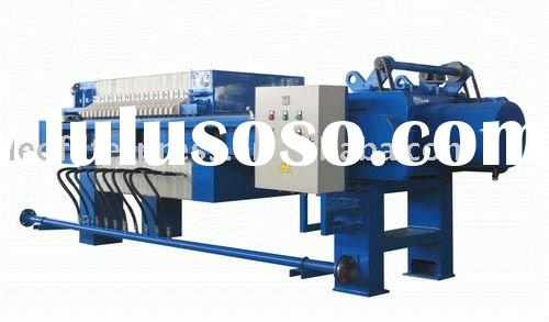 Oil Filter Press(Oil Plate and Frame Filter Press) for Various Oil Products Filtering