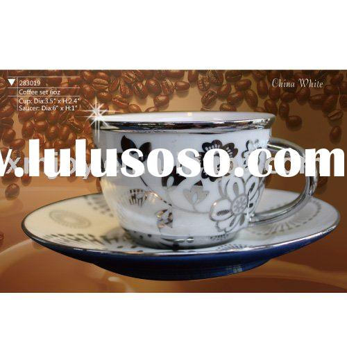 Porcelain coffee cup and Saucer/top grade