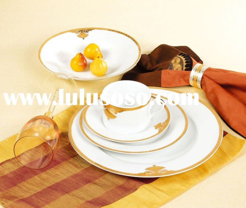 Porcelain royal cake plate,tea cup and saucer