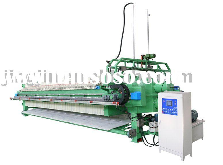 Program controled Automatic Washing PP High Pressure Membrane Filter Press