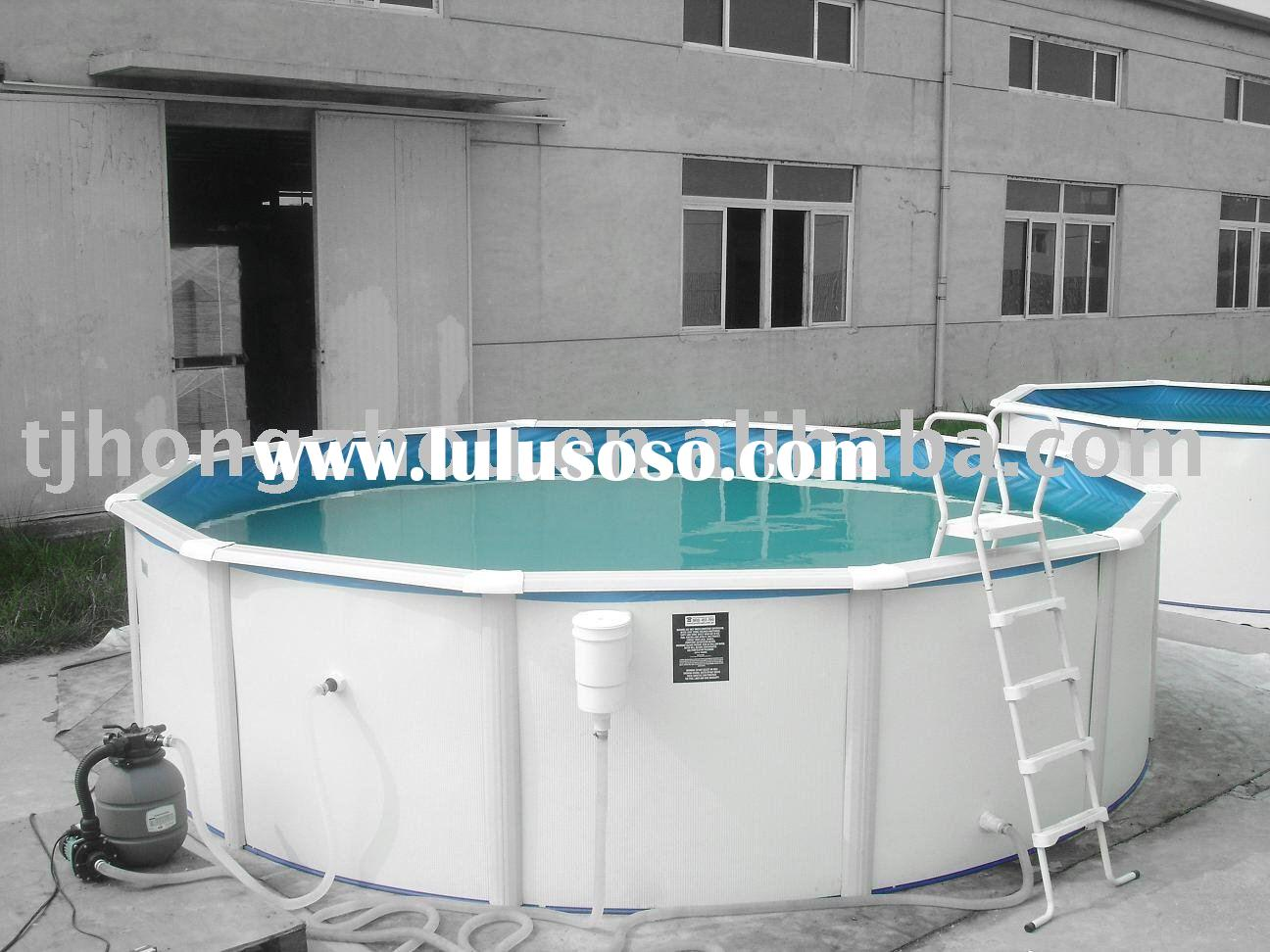 Steel Wall Above Ground Swimming Pool