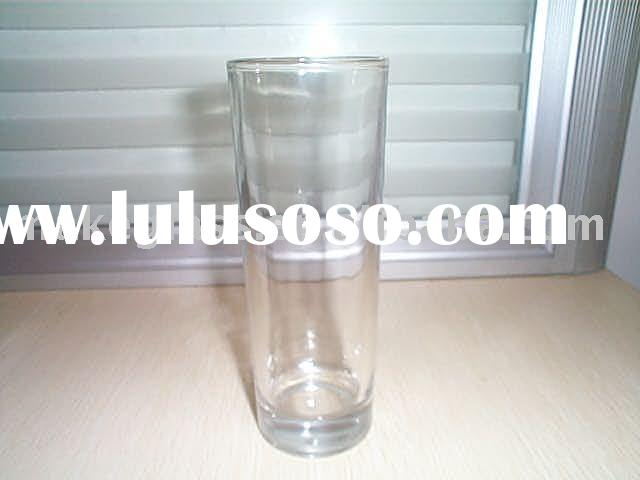 cylinder glass cup/drinking glasses/drinking cup