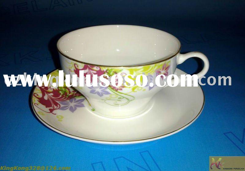 eggshell china tea cup and saucer