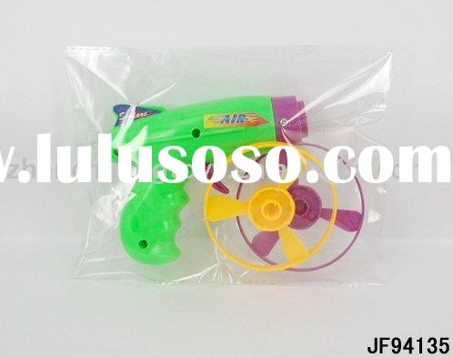 new plastic flying saucer gun toy