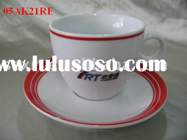 porcelain coffee cup and saucer,porcelain teacup