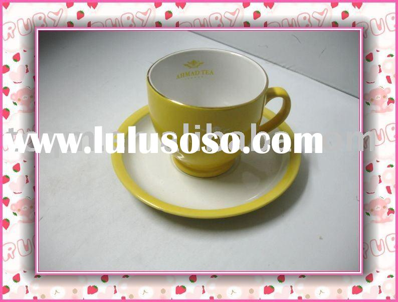 tea set(porcelain,cup and saucer,for daily use)