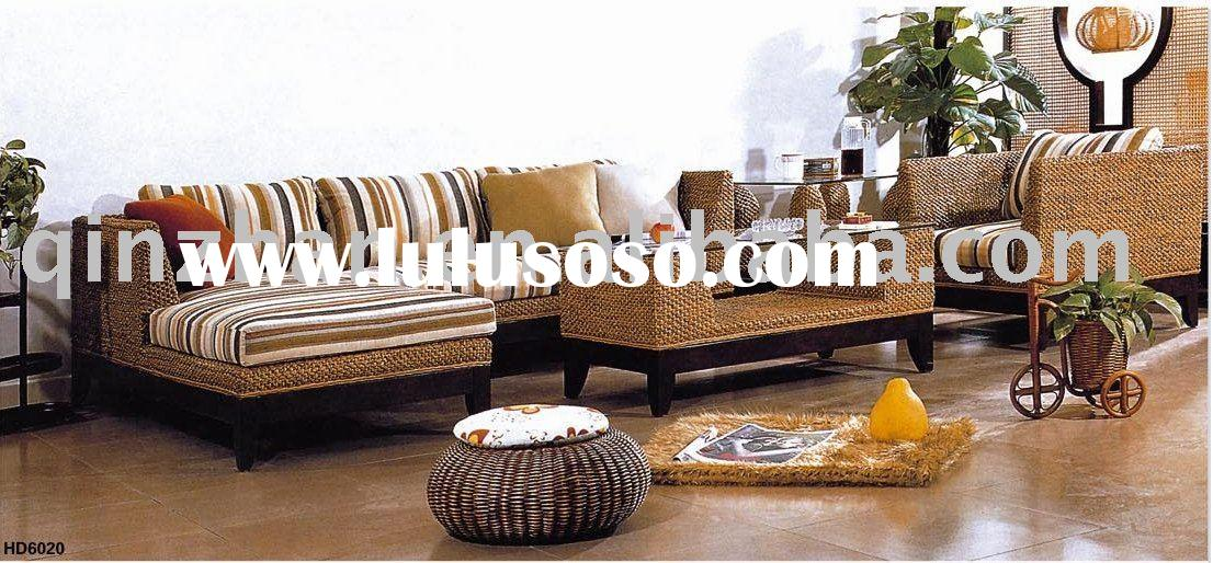 2010 Fashionable Rattan Living Room Sofa Set