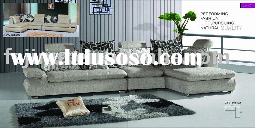 2011 design home furniture new living room fabric sofa