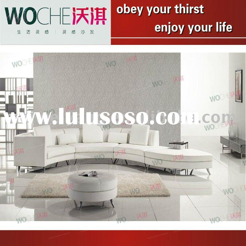 2011 modern fashion furniture Leather Sofa set(WQF31)