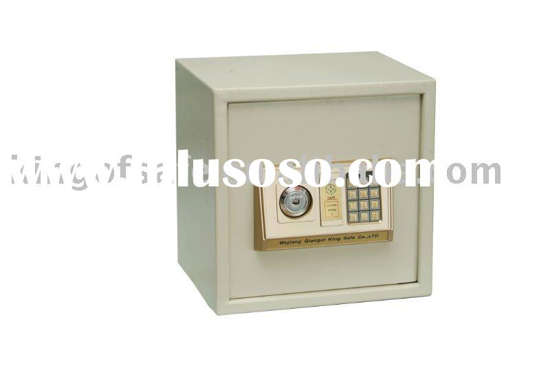 Digital Safe Box with key lock,Electronic Safe Box For office home hotel