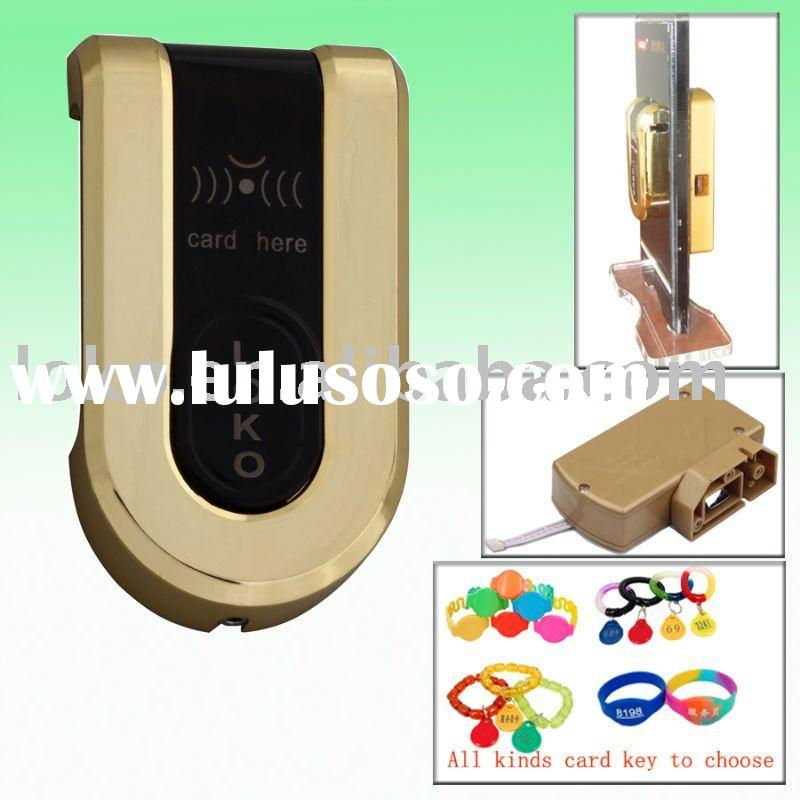 EM card hotel cabinet lock for sauna center, swimming pool (LK-EM498G)