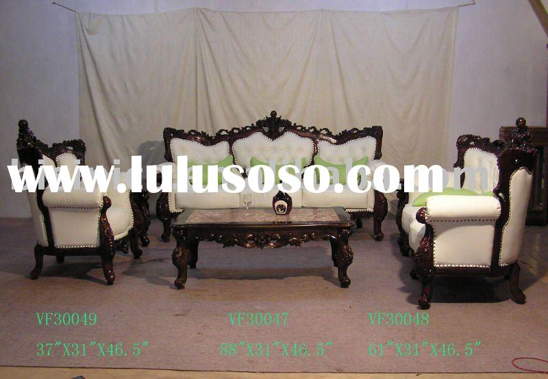 French provincial living room sofa set