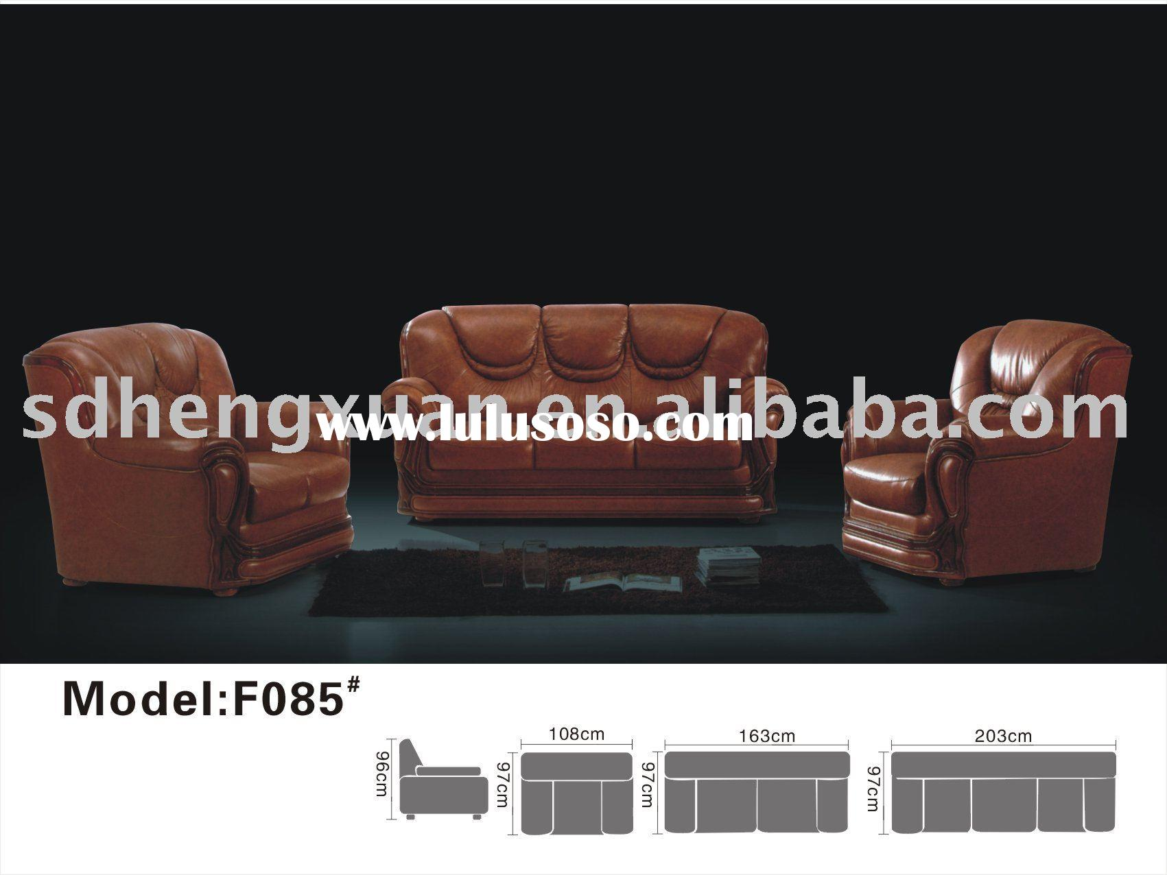 Leather sofa/home furniture/living room furniture