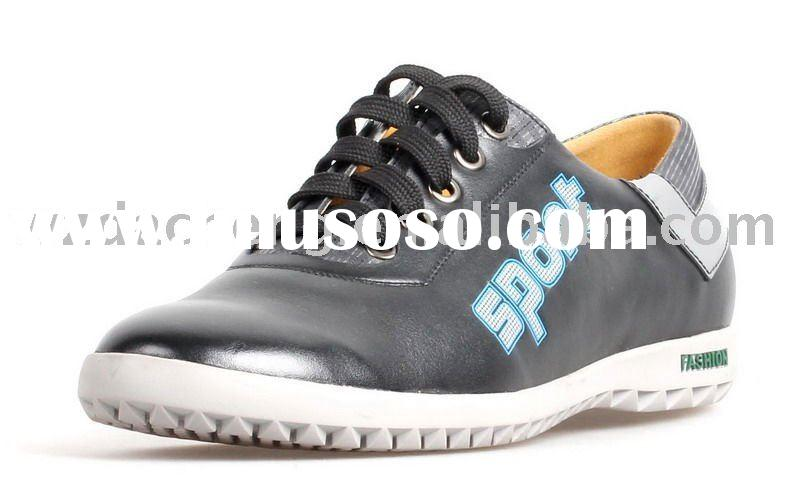 Men Leather Casual Shoe
