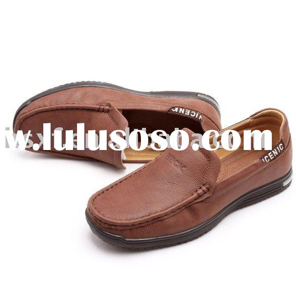 Mens Leather Loafers Casual shoes