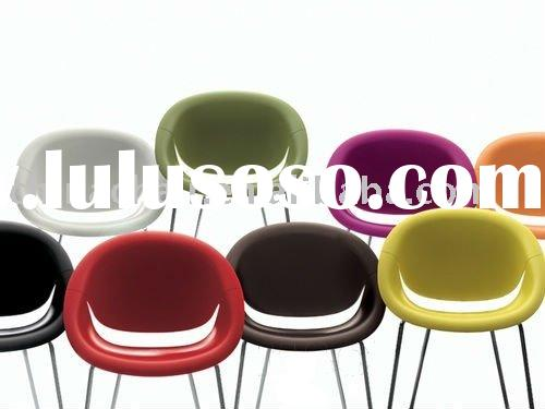 Modern plastic stackable salon waiting room chairs