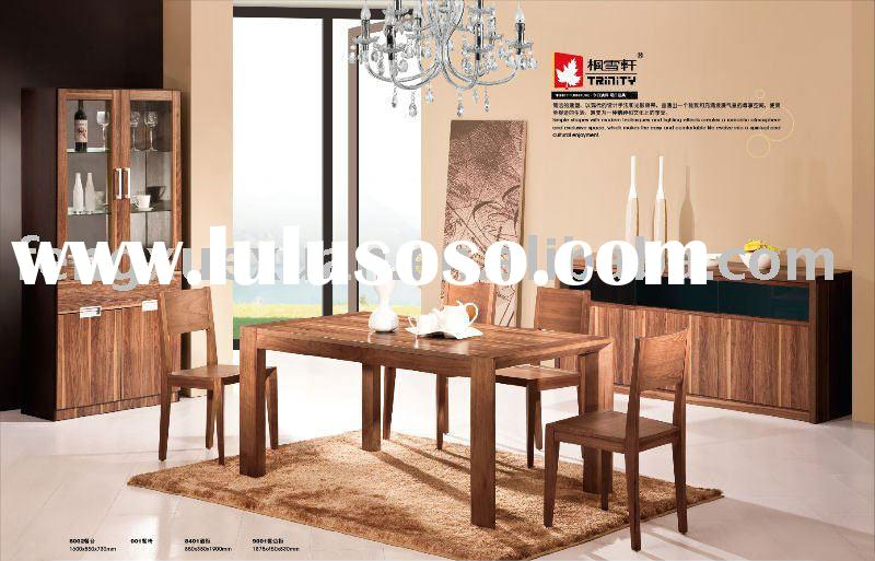 Modern,simple and durable dining room furniture set