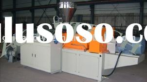 Plastic processing machinery: PVC roofing sheet extrusion line